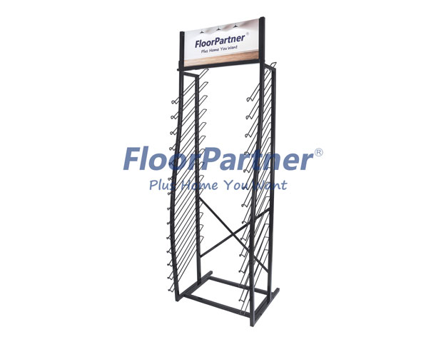 metal display tower