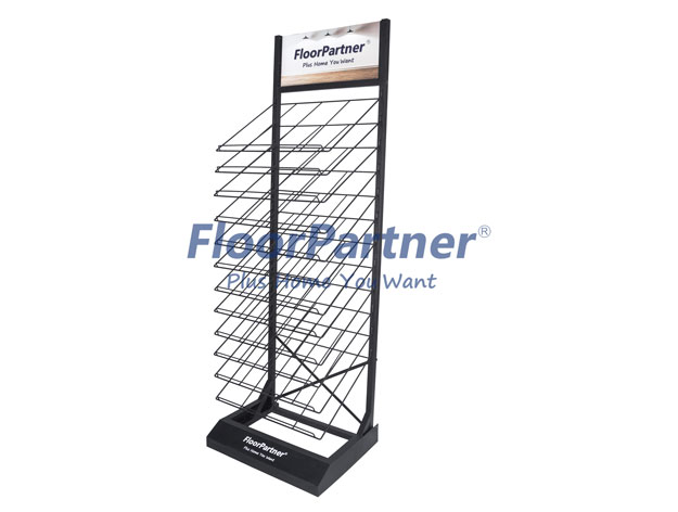 Spraying technology of metal display tower